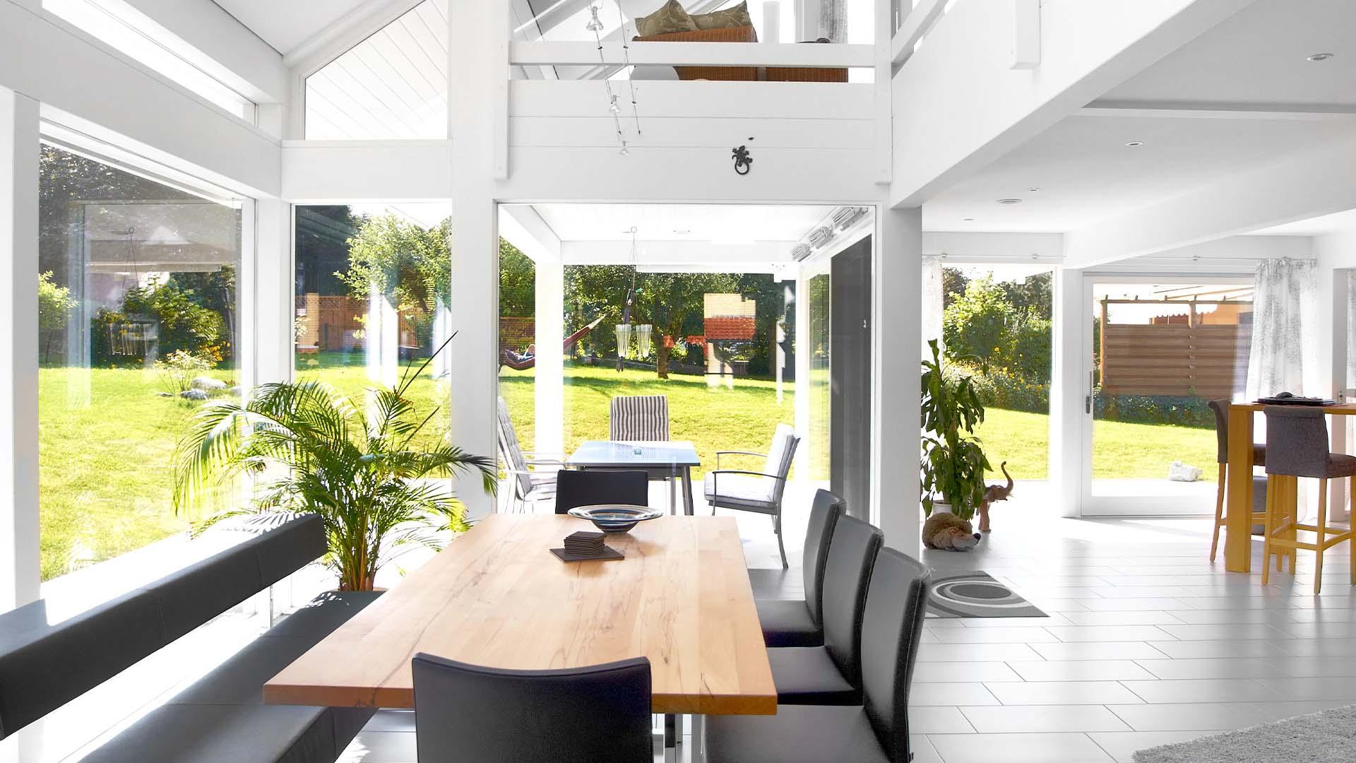 Modernes Fachwerkhaus | Wohnen im Tageslicht | Detmolder Fachwerkhaus