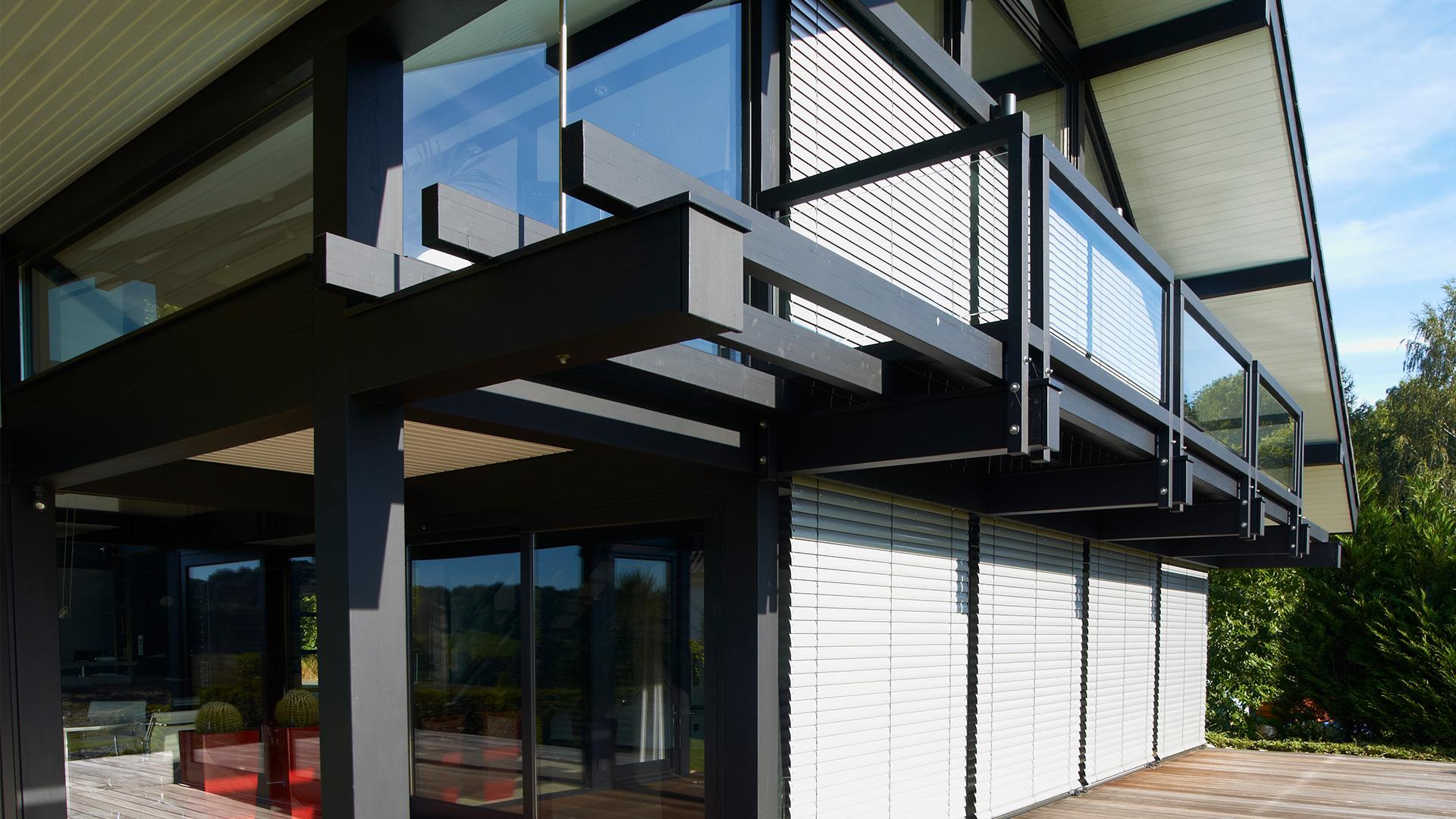 Modernes Fachwerkhaus | Musterhaus | Detmolder Fachwerkaus