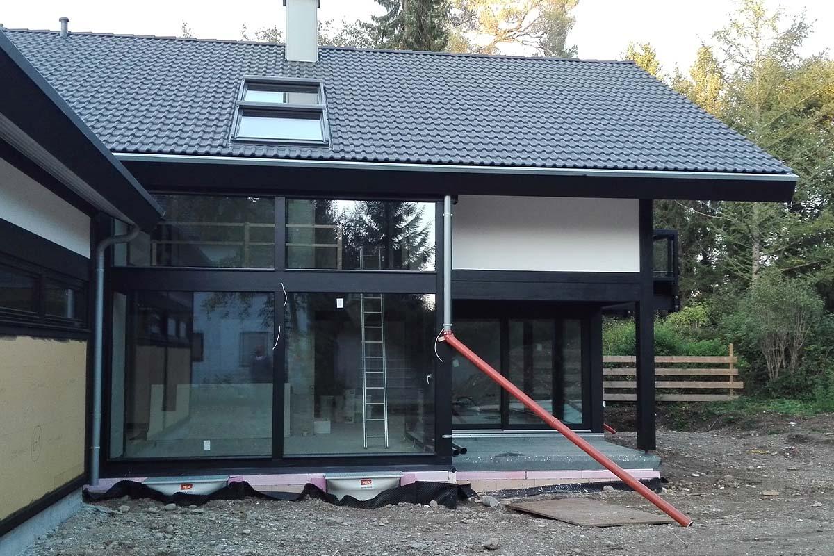 Modernes Fachwerkhaus bei München 1