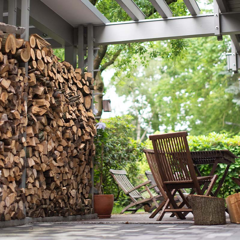 Detmolder Fachwerkhaus – Moderne Gartengestaltung