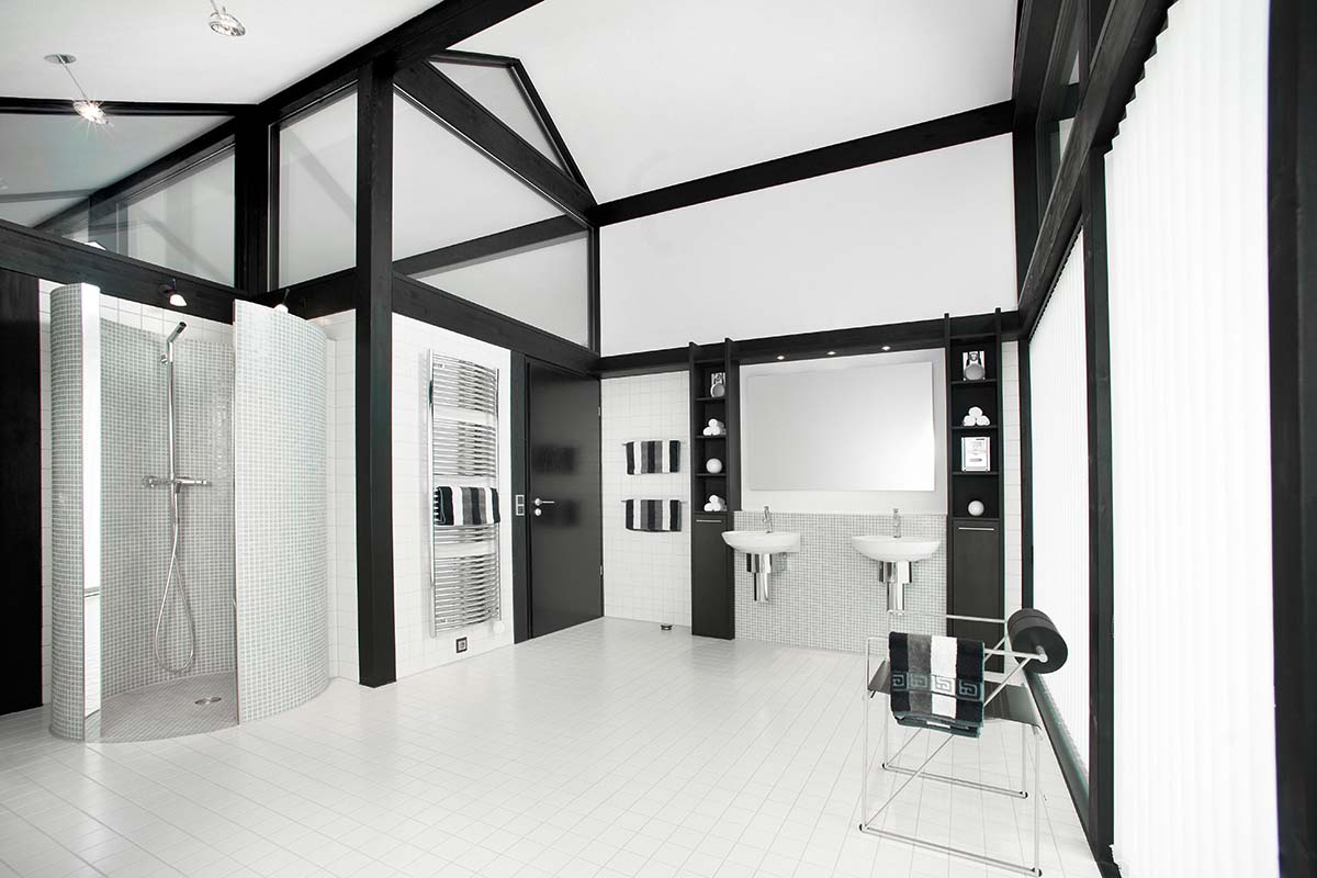 Modernen Fachwerkhaus Tageslicht