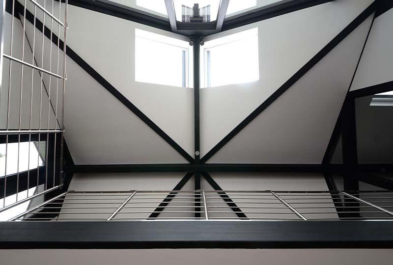 Detmolder Fachwerkhaus – Dachkonstruktion