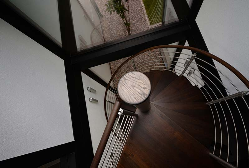 Detmolder Fachwerkhaus – Treppenhaus
