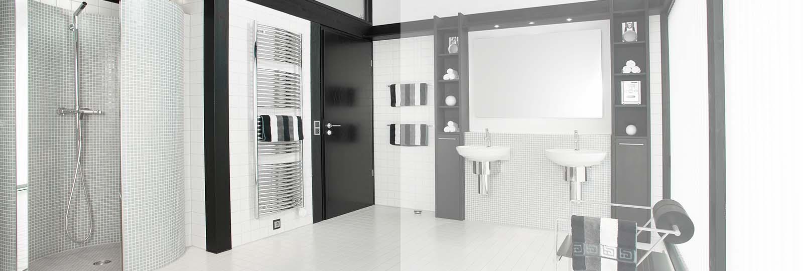 Detmolder Fachwerkhaus – Badezimmer