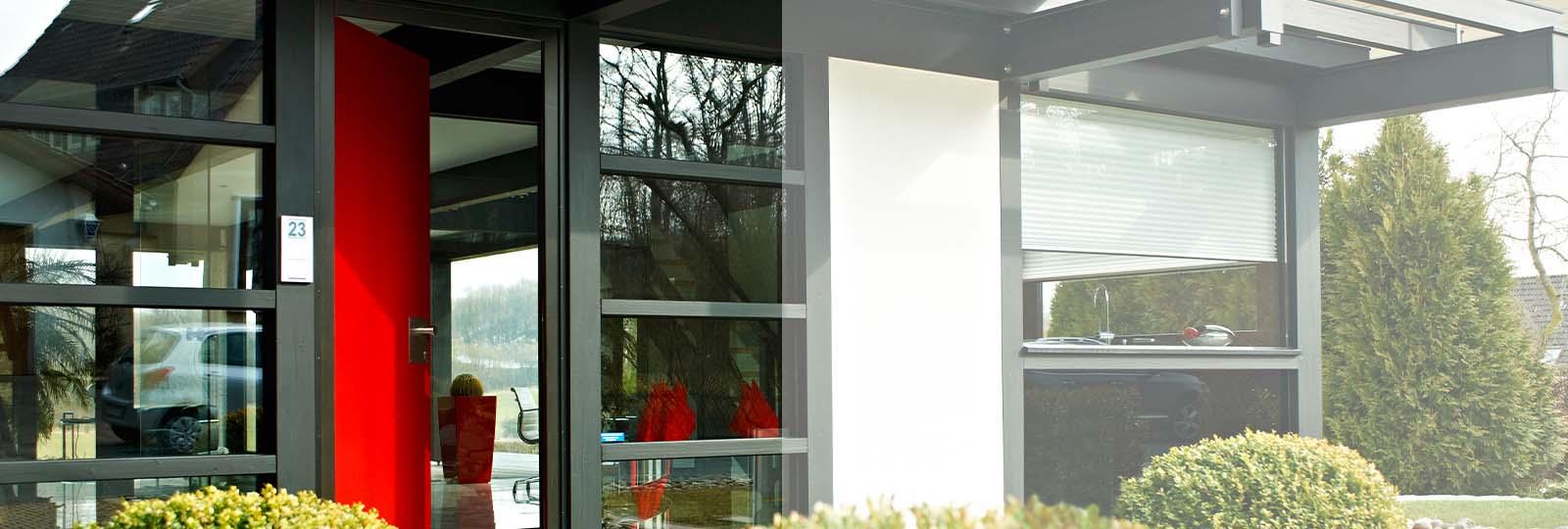 Detmolder Fachwerkhaus – Moderner Eingangsbereich