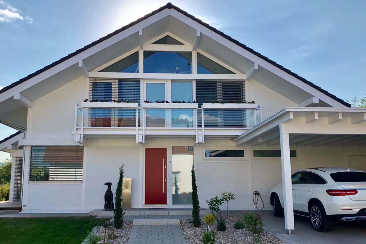 Exklusives Wohnen im modernen Fachwerkhaus 7
