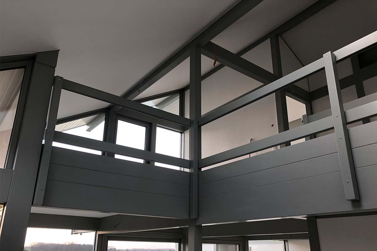 Modernen Fachwerkhaus mit Flachdachanbau 3