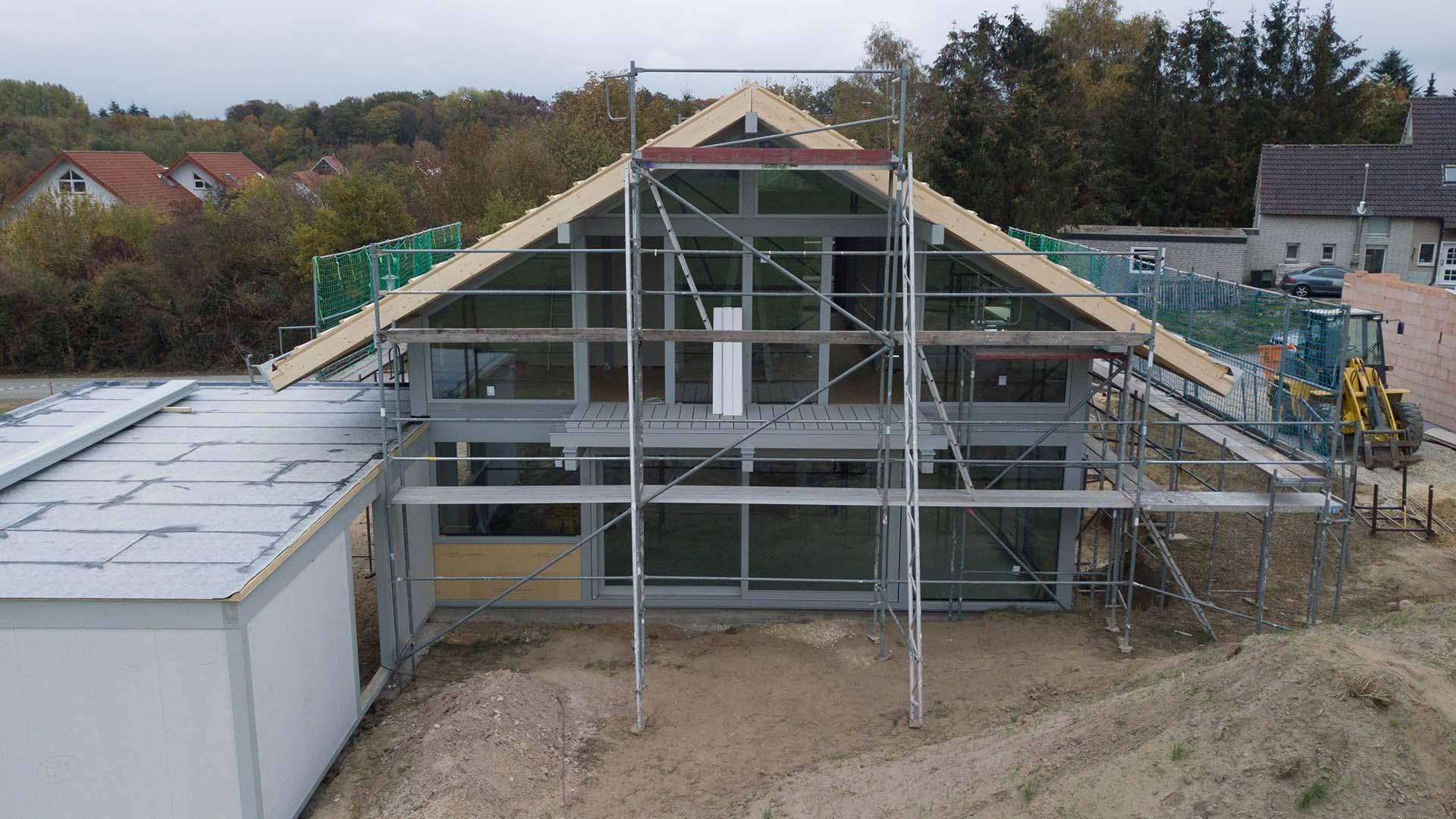 Detmolder Fachwerkhaus – Bauprozess 01