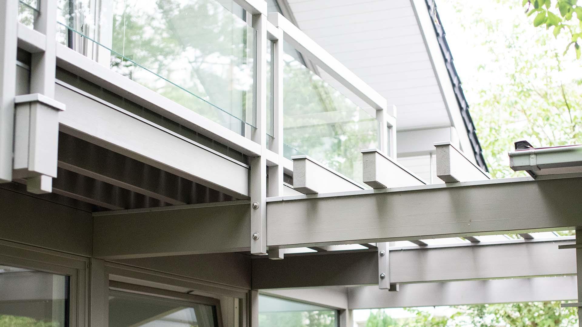 Detmolder Fachwerkhaus – Balkon und Terasse 02