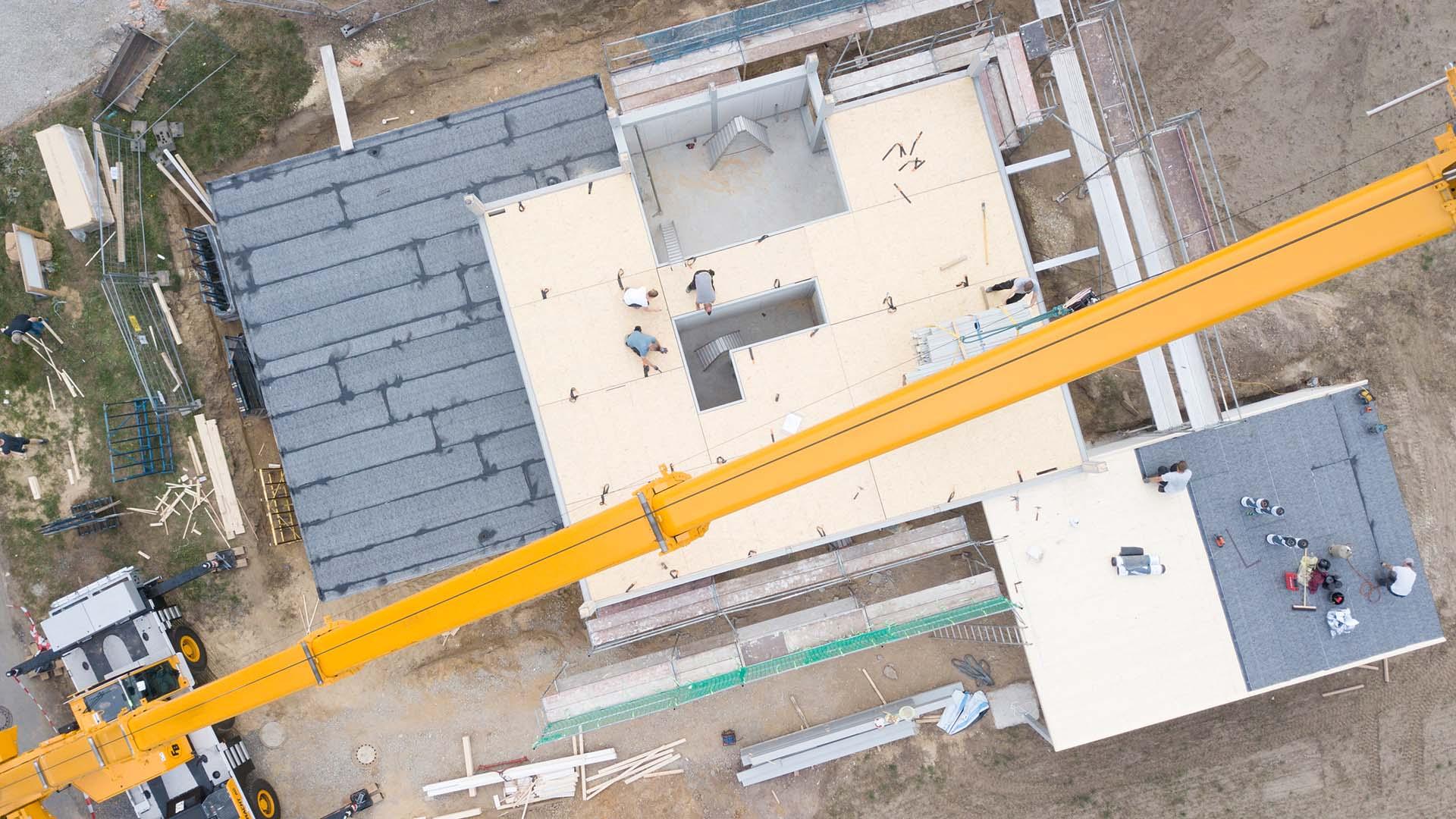 Detmolder Fachwerkhaus – Bauprozess 02