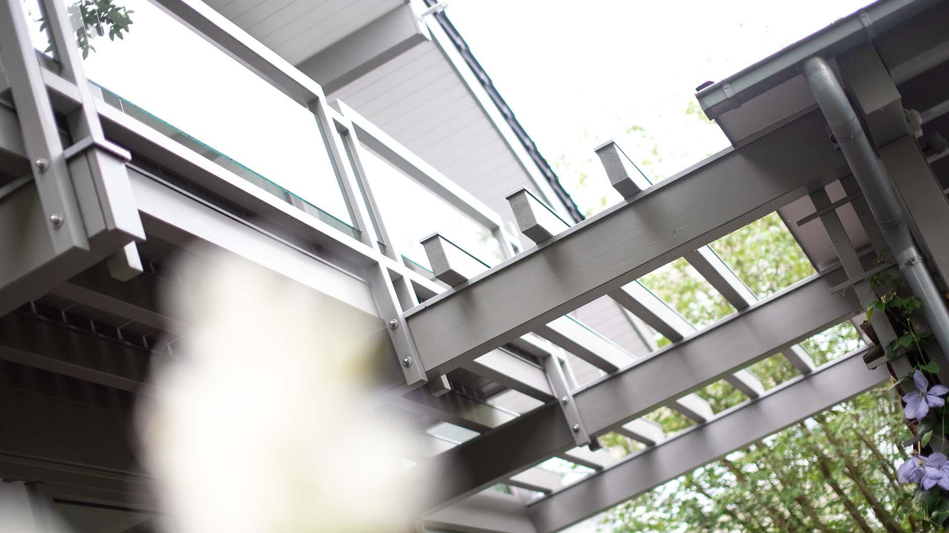 Detmolder Fachwerkhaus – Balkon und Terasse 03