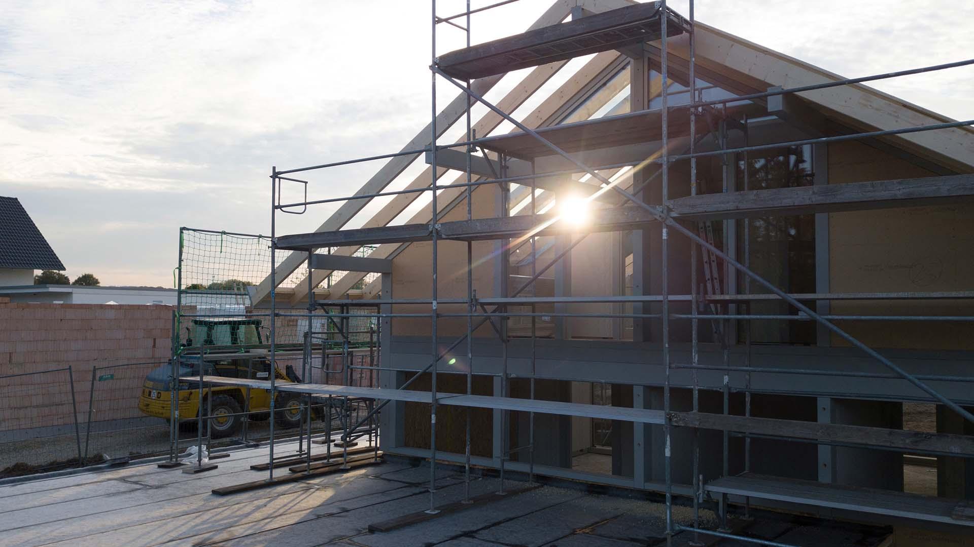 Detmolder Fachwerkhaus – Bauprozess 03