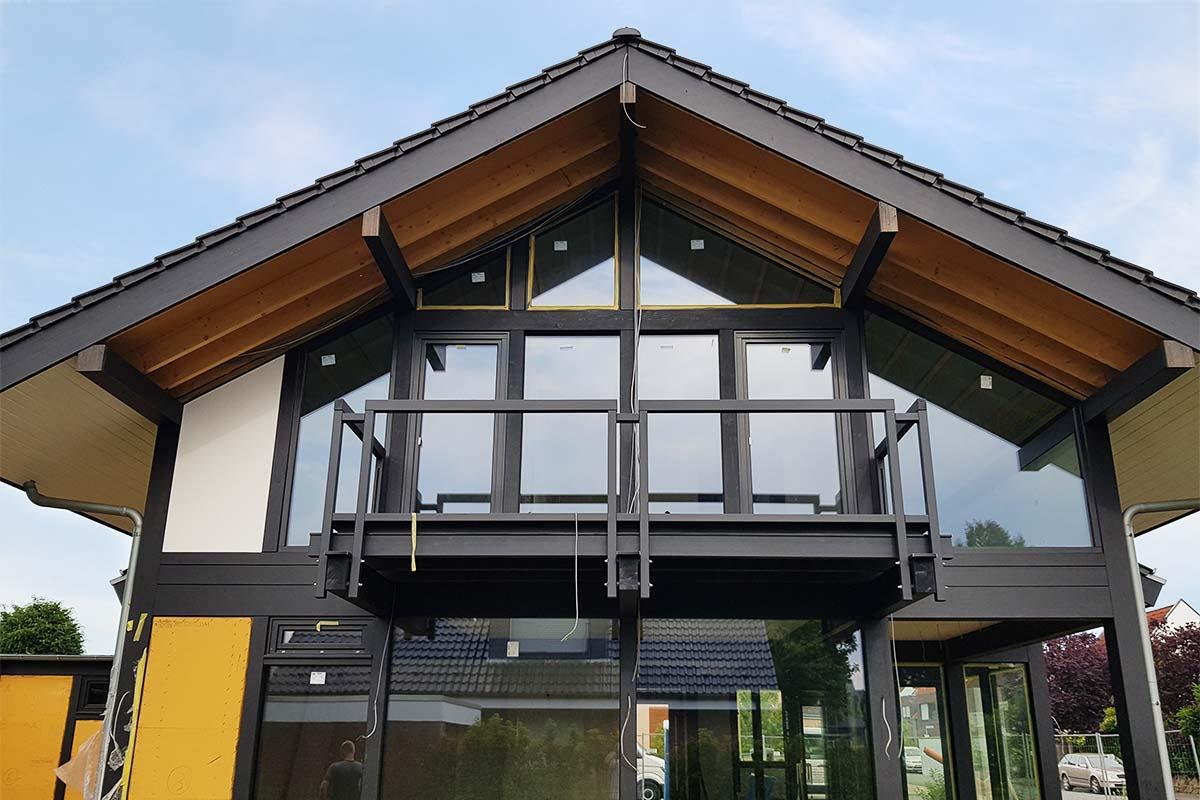 Modernes Fachwerkhaus in Münster
