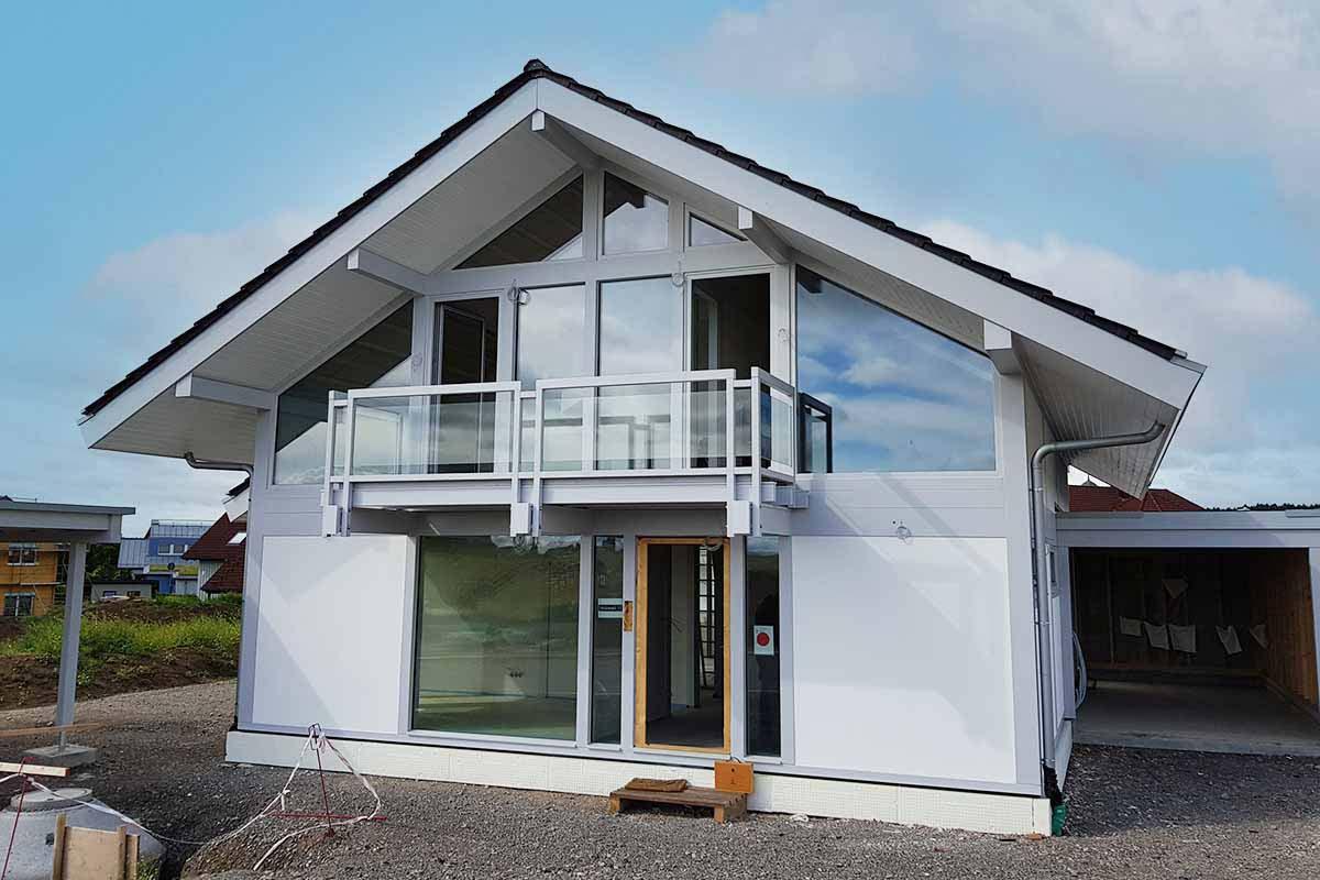 Ein modernes Fachwerkhaus in Baden Würtemberg